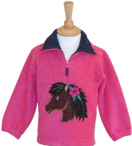 British Country Collection Poppy Pony Fleece